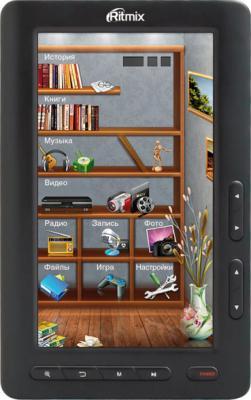 Электронная книга Ritmix RBK-420 Black (microSD 8Gb) - общий вид