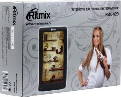 Электронная книга Ritmix RBK-429 (microSD 8Gb) - коробка