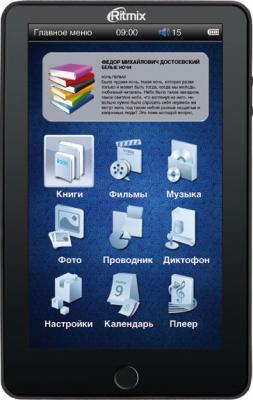 Электронная книга Ritmix RBK-450 (microSD 8Gb) - общий вид