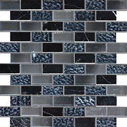 Мозаика стеклянная Pilch JDN003-6 Стекло (300x300)