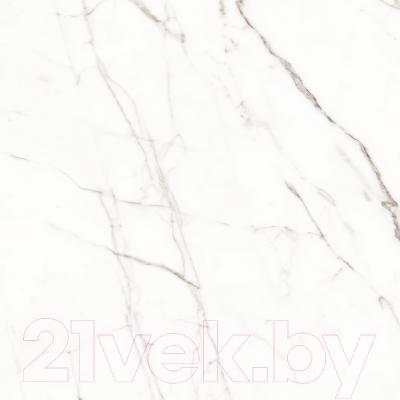 Плитка для пола Kerranova Black and White White Lapp. (600x600)