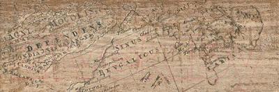 Декоративная плитка Kerranova Timber Alder Карта (600x200)