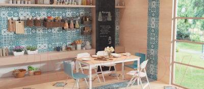 Декоративная плитка VitrA Carmina Blue Tozetti K085755 (450x450)