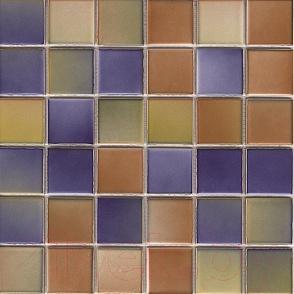 Мозаика VitrA Colorline Mix 2 Табачно-Голубой (300x300, M5x5)