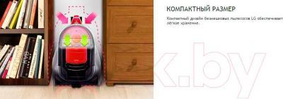 Пылесос LG VK706R01NY - особенности модели