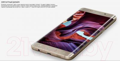 Смартфон Samsung Galaxy S6 edge Plus / G928F (золотой)