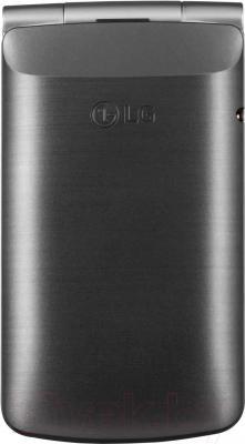 Мобильный телефон LG G360 (титановый)