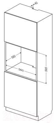 Электрический духовой шкаф Hansa BOEW69677