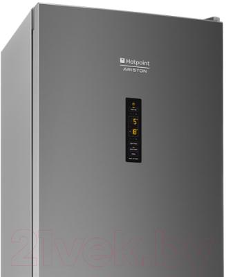 Холодильник с морозильником Hotpoint HF 8201 S O