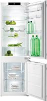 Холодильник с морозильником Gorenje NRKI5181CW -