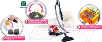Пылесос LG VC73185NHAP - преимущества модели