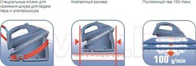 Утюг с парогенератором Tefal GV6760 - преимущества