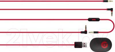 Наушники Beats Studio Wireless Over-Ear Headphones / MHA92ZM/A (синий) - кабель для подключения проводного воспроизведения