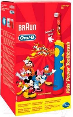 Электрическая зубная щетка Braun Oral-B Kids Mickey Mouse D10.513K (80252731)