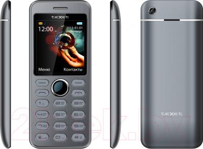 Мобильный телефон TeXet TM-224 (серый)