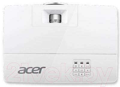 Проектор Acer X1285 TCO (MR.JLM11.001) - вид сверху