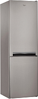 Холодильник с морозильником Whirlpool BSNF 8101 OX -