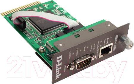 Модуль управления медиаконвертерами D-Link