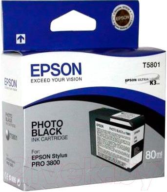 Картридж Epson C13T580100