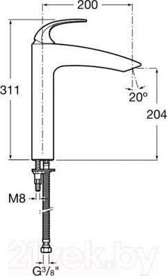 Смеситель Roca M2-N 5A8668C00