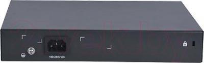 Коммутатор HP 1910-8 (JG536A) - вид сзади