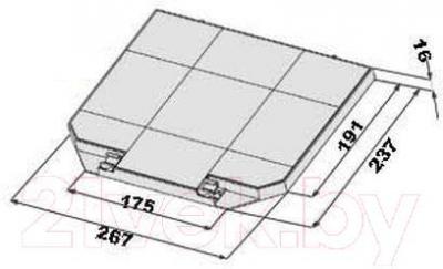 Угольный фильтр для вытяжки Faber Easy Cube/Stilo