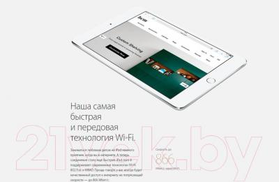 Планшет Apple iPad mini 4 Cell MK702RK/A (серебристый)