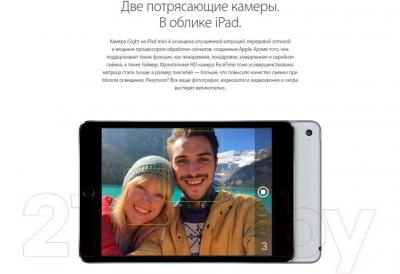Планшет Apple iPad mini 4 Cell MK732RK/A (серебристый)