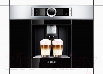 Кофемашина Bosch CTL636ES1 - возможность приготовления двух чашек одновременно