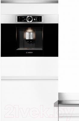 Кофемашина Bosch CTL636ES1 - пример встраивания