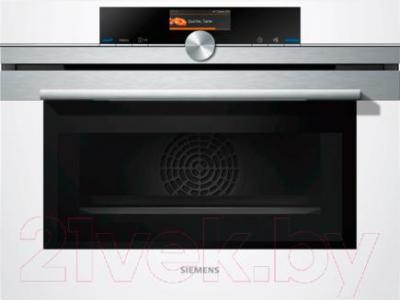 Электрический духовой шкаф Siemens CM636GBW1