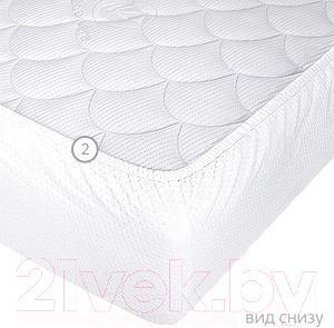 Наматрасник Vegas Protect Stressfree A1 160х210 - общий вид снизу