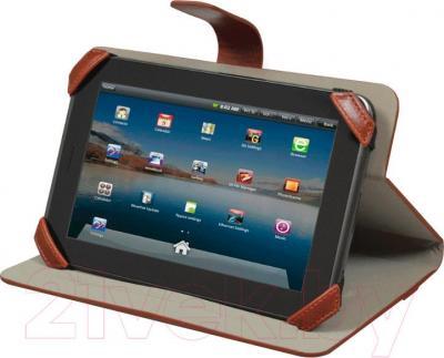 Чехол для планшета Port Designs Manille Universal 7 / 201342 (коричневый) - пример использования