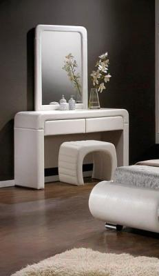 Туалетный столик с зеркалом Signal 2017 (белый)
