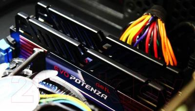 Оперативная память DDR3 GeIL EVO Potenza Onyx Black 2x4GB DDR3 PC3-12800 (GPB38GB1600C11DC)