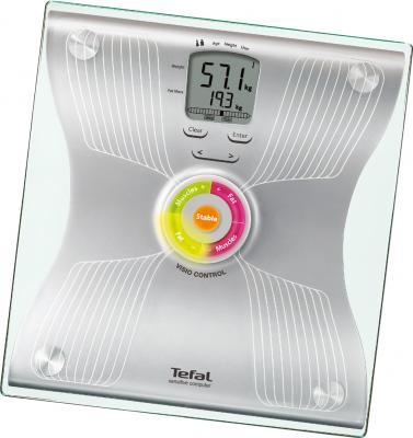 Напольные весы электронные Tefal BM8022 Bodysignal Glass - вид сверху