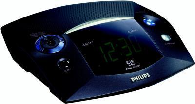 Радиочасы Philips AJ3225 - общий вид