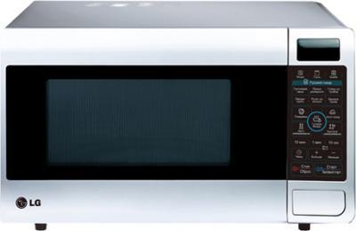 Микроволновая печь LG MH6347GRL - фронтальный вид