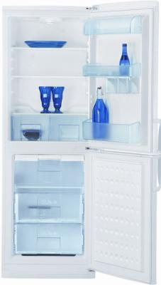 Холодильник с морозильником Beko CSK30000 - вид спереди