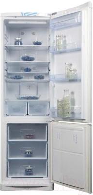 Холодильник с морозильником Indesit B20DFNF - внутренний вид