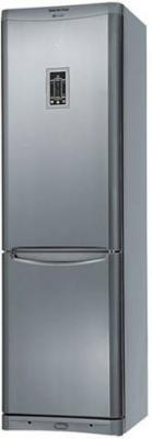 Холодильник с морозильником Indesit B 20 D FNF X - Вид спереди