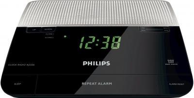 Радиочасы Philips AJ3226/12 - вид спереди
