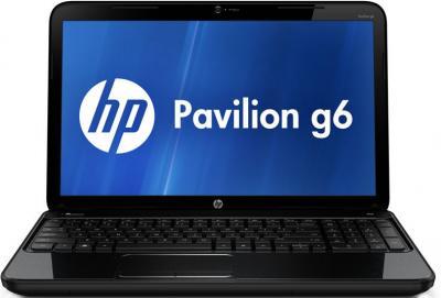 Ноутбук HP Pavilion g6-2126sr (B6W76EA) - фронтальный вид