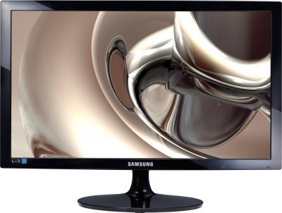 Монитор Samsung T24B300EW (LT24B300EWH/CI) - фронтальный вид