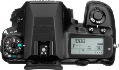 Зеркальный фотоаппарат Pentax K-5 Kit DA 18-55mm - вид сверху