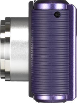 Компактный фотоаппарат Pentax Optio LS465 (Amethyst-Purple) - вид сбоку