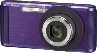 Компактный фотоаппарат Pentax Optio LS465 (Amethyst-Purple) - общий вид