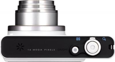 Компактный фотоаппарат Pentax Optio RZ18 (White) - вид сверху