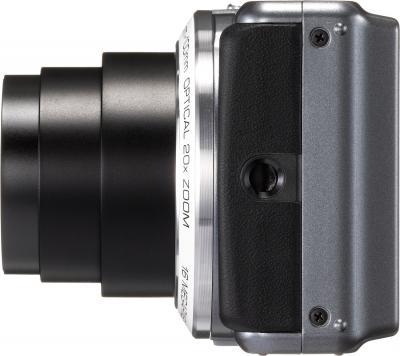 Компактный фотоаппарат Pentax Optio VS20 (White) - вид сбоку