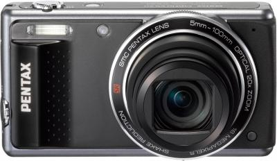 Компактный фотоаппарат Pentax Optio VS20 (Black) - общий вид